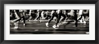 Framed NYC Marathon