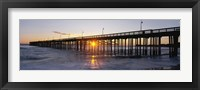 Framed Ventura Pier at Sunset