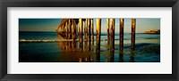 Framed Cayucos Pier, Cayucos, California