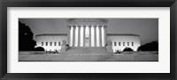 Framed Supreme Court Building, Washington DC