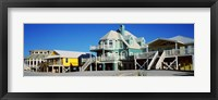 Framed Beach Front Houses, Gulf Shores, Baldwin County, Alabama