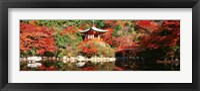 Framed Daigo Temple, Kyoto, Japan