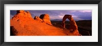 Framed Mountains in Arches National Park, Utah