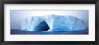 Framed Tabular Iceberg Antarctica