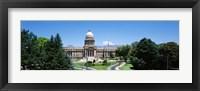 Framed Idaho State Capitol, Boise