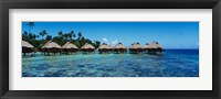 Framed Beach Huts, Bora Bora, French Polynesia