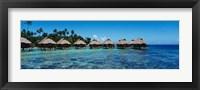 Framed Beach Huts, Bora Bora, French Polynesia