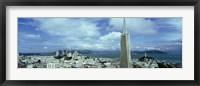 Framed Skyline with Transamerica Building, San Fransisco
