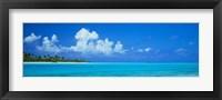 Framed Island in the Ocean, Polynesia