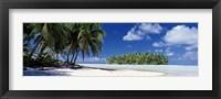 Framed Tuamotu Islands, French Polynesia