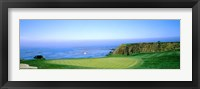 Framed Pebble Beach Golf Course, Monterey County, California