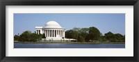 Framed Jefferson Memorial, Washington DC (pano)