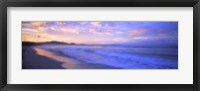 Framed Costa Rica Beach at Sunrise