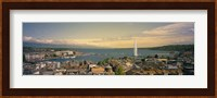 Framed Lake Geneva, Switzerland