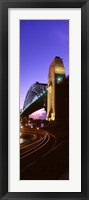 Framed Australia, Sydney, Harbor Bridge (vertical)