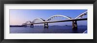 Framed Centennial Bridge, Iowa, Illinois