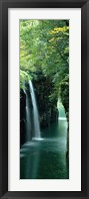 Framed Waterfall in Miyazaki, Japan