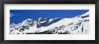 Framed Little Cottonwood Canyon, Salt Lake City, Utah