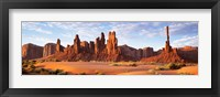 Framed Monument Valley in Arizona