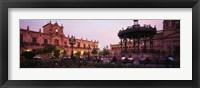 Framed Plaza De Armas, Guadalajara, Mexico