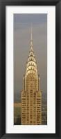 Framed Chrysler Building, New York, NY