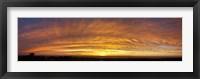 Framed Sunset, Todos Santos, Baja California, Mexico
