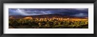Framed Tinghir, Morocco