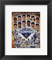 Framed New York Mets 2015 National League Champions Composite
