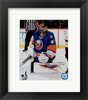 Framed Jaroslav Halak 2015-16 Action