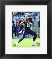 Framed Marcus Mariota 2015 Action