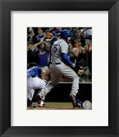 Framed Eric Hosmer scores the game tying run Game 5 of the 2015 World Series