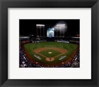 Framed Kauffman Stadium Game 1 of the 2015 World Series