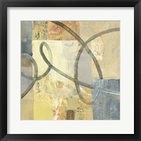 Ribbon Dance II Framed Print