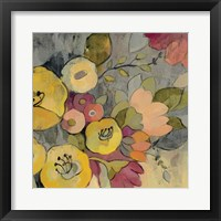 Yellow Floral Duo I Framed Print