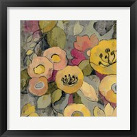 Yellow Floral Duo II Framed Print