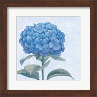 Framed Blue Hydrangea III Crop