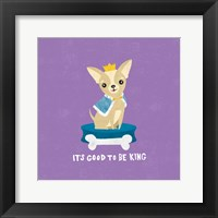 Good Dogs Chihuahua Bright Framed Print