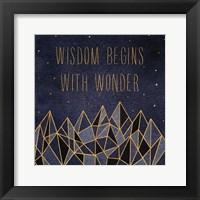Framed Written in the Stars I
