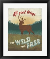 Discover the Wild II Framed Print