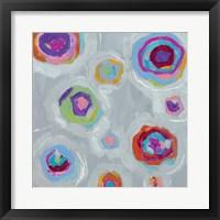 Frolic I Crop Framed Print
