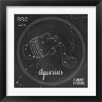 Framed Night Sky Aquarius
