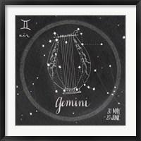 Framed Night Sky Gemini