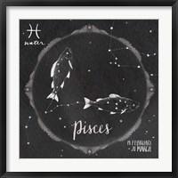 Framed Night Sky Pisces