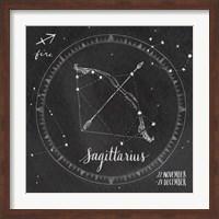 Framed Night Sky Sagittarius.