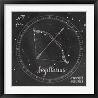 Framed Night Sky Sagittarius.