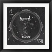 Framed Night Sky Taurus