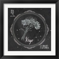 Framed Night Sky Virgo