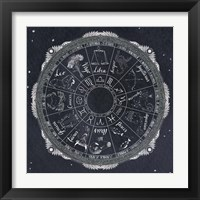 Framed Night Sky Zodiac