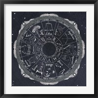 Framed Night Sky Zodiac