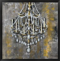 Framed Vintage Chandelier I